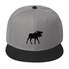 Black Moose - Snapback Hat (Multi Colors)