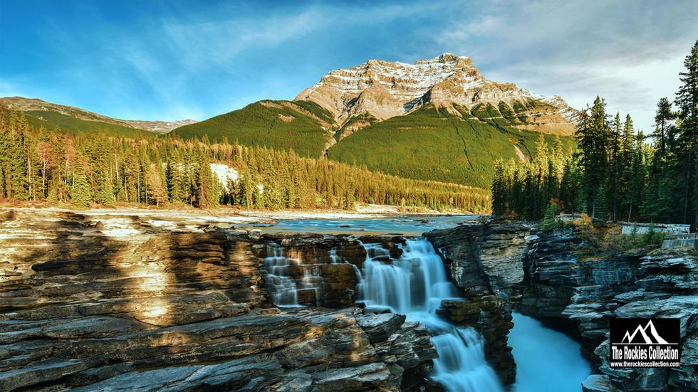 ATHABASCA FALLS - JASPER CANADIAN ROCKIES