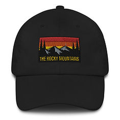 The Rocky Mountains - Baseball / Dad hat (Multi Colors) American Canadian Rockies