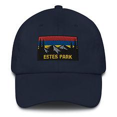 Estes Park Colorado - Baseball / Dad hat (Multi Colors) The Rockies American Rocky Mountains