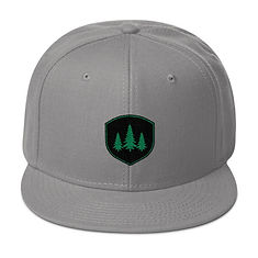 The Rockies Collection - Pine Tree Crest - Snapback Hat (Multi Colors)
