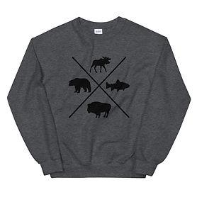 The Rockies Wildlife - Sweatshirt (Multi Colors)