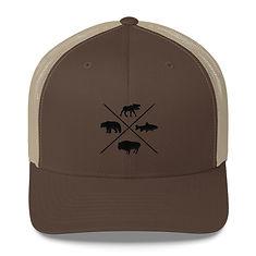 The Rockies Wildlife - Trucker Cap (Mult