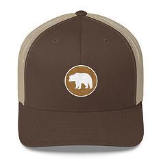 Bear Patch - Trucker Cap (Multi Colors)