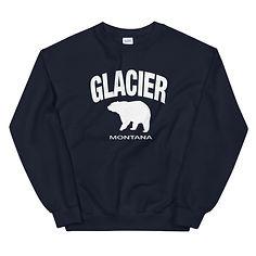 Glacier Montana USA - Sweatshirt (Multi Colors) The Rockies American Rocky Mountains