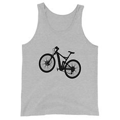 Bicycle - Tank Top (Multi Colors) The Rocky Mountains American Canadian Rockies