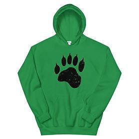 Bear Paw - Hooded Sweatshirt (Multi Colors)