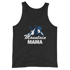 Mountain Mama - Tank Top (UNISEX) (Multi Colors)