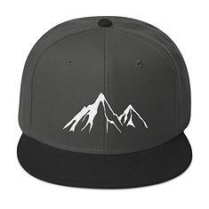 Mountain Peak - Snapback Hat (Multi Colors)