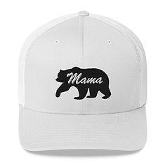 Mama Bear - Trucker Cap (Multi Colors) The Rocky Mountains