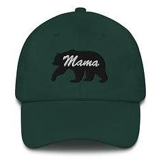 Mama Bear - Baseball / Dad hat (Multi Colors) The Rocky Mountains