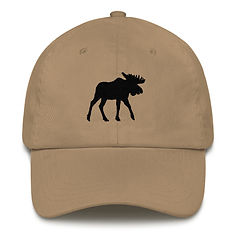 Black Moose - Baseball / Dad hat (Multi Colors) The Rocky Mountains Canadian American Rockies