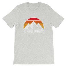 The Rocky Mountains - T-Shirt (Multi Colors) The Canadian American Rockies