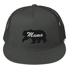 Mama Bear - Mesh Back Snapback