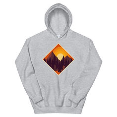 Mountain Sunset - Hoodie (Multi Colors)