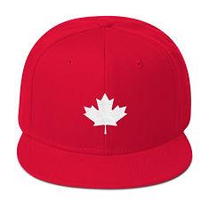 Maple Leaf - Snapback Hat (Multi Colors)