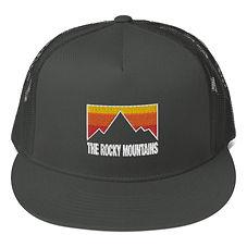 The Rocky Mountains - Mesh Back Snapback