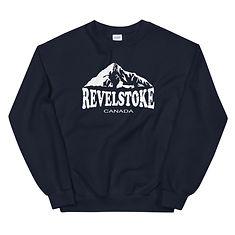 Revelstoke British Columbia Canada - Sweatshirt (Multi Colors) The Rockies Canadian Rocky Mountains