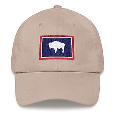 Wyoming Flag - Baseball : Dad hat
