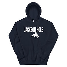 Jackson Hole Wyoming USA - Hooded Sweatshirt (Multi Colors) The Rockies American Rocky Mountains