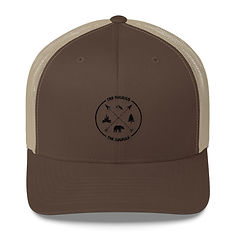 The Rockies - Trucker Cap (Multi Colors) Canadian American Rocky Mountains