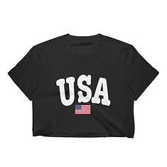 USA - Crop Top