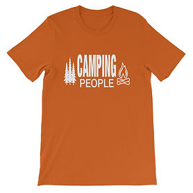 CampingThe Rockies Collection - People - T-Shirt (Multi Colors)