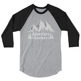 The Rockies Collection - Adventure Seeker - 3:4 sleeve raglan shi