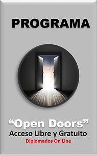 logo del programa opon doors