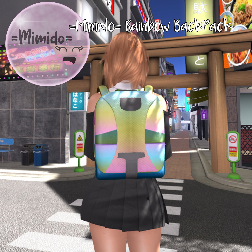 =Mimido= - Rainbow BackPack