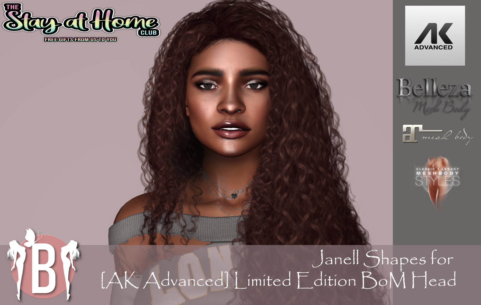 IBI Shapes - Janell Shape for [AK Advanced] BOM Head