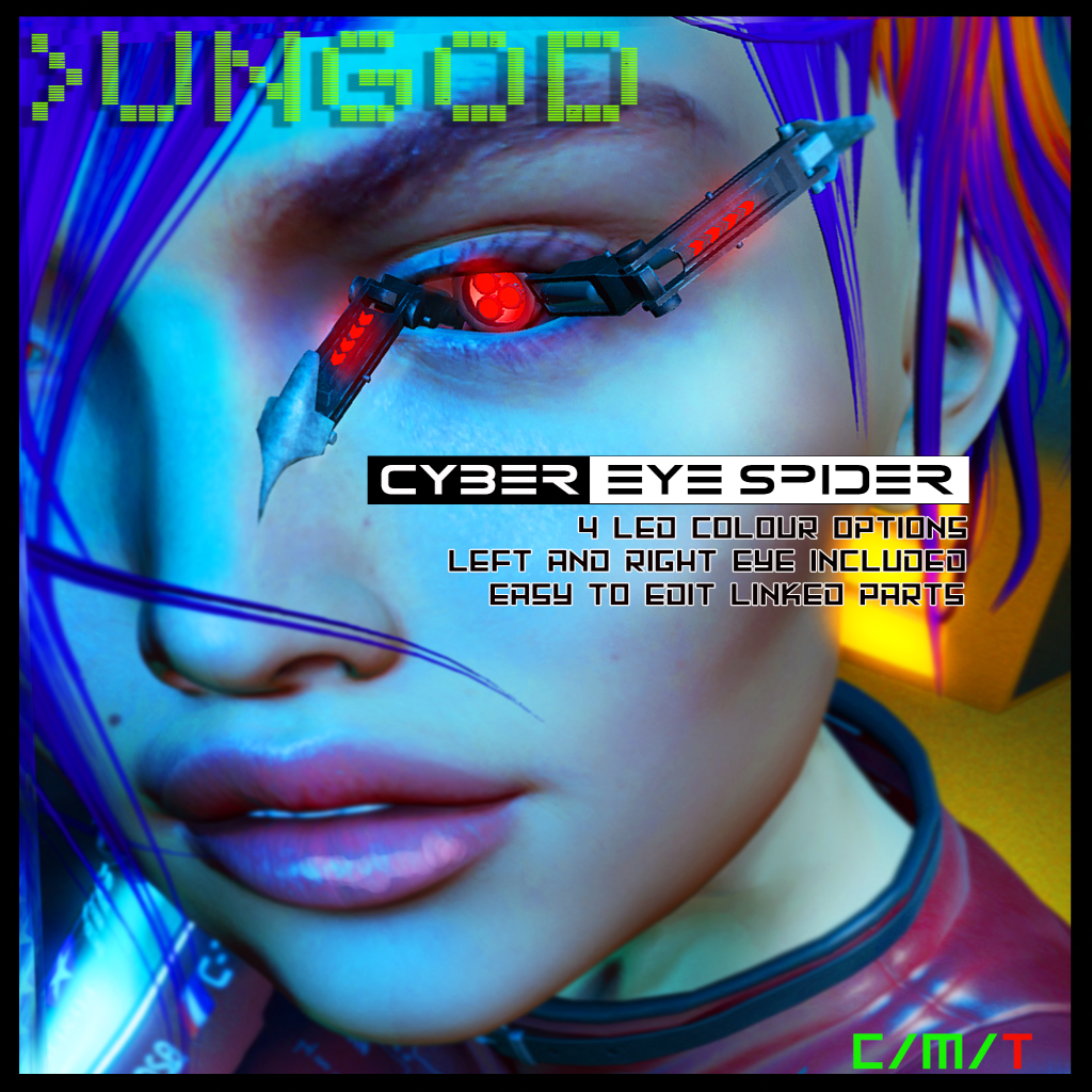 _UNGOD Cyber Eye Spider Ad