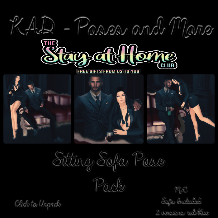 KAD Poses - Sitting Sofa Pose Pack