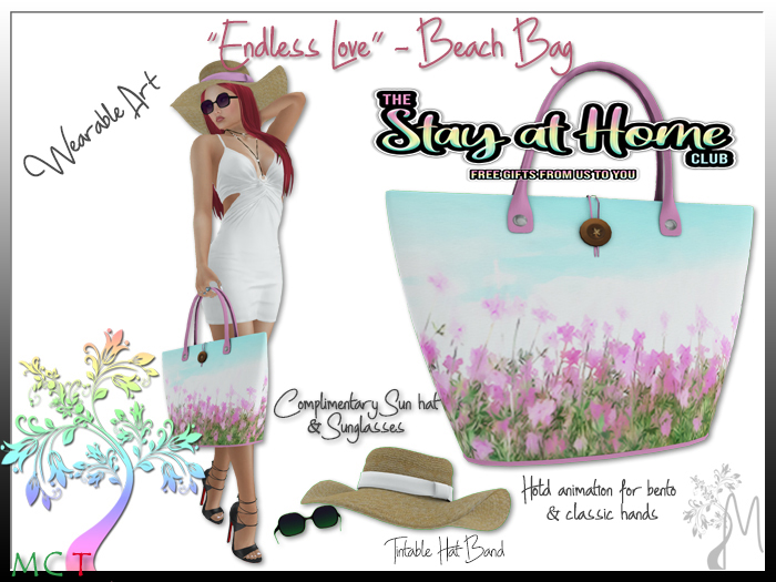 Montage Gallery - Endless Love Beach Bag