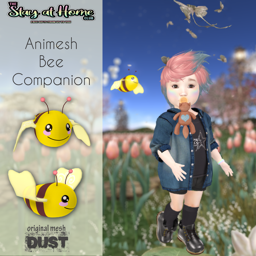 Dust - Animesh Bee Companion