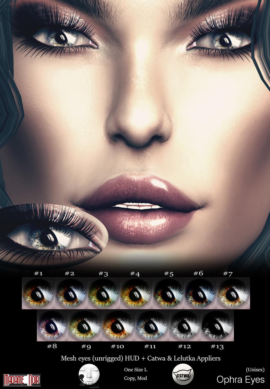 Madame Noir - Ophra Eyes