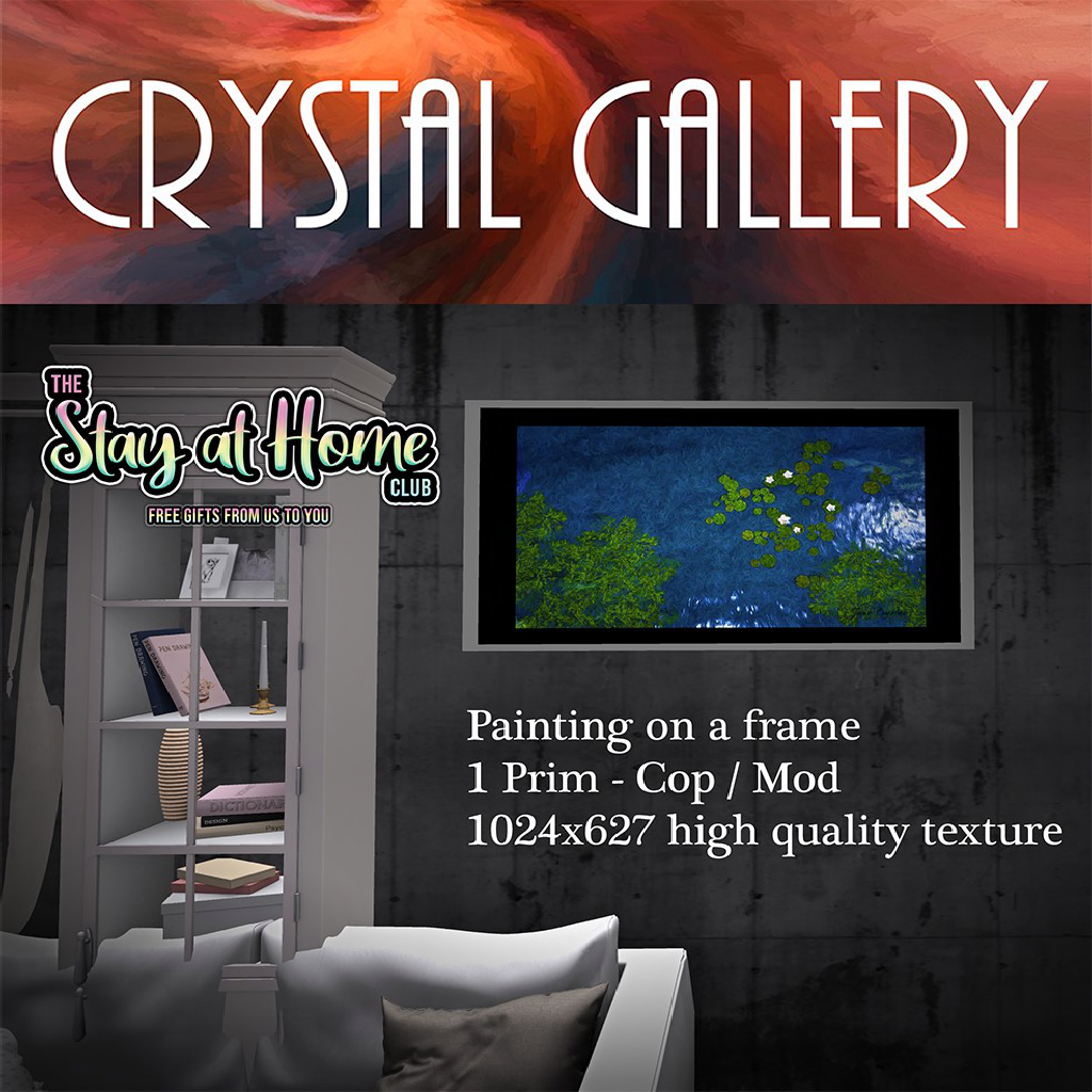 Crystal Gallery - Painting on a frame