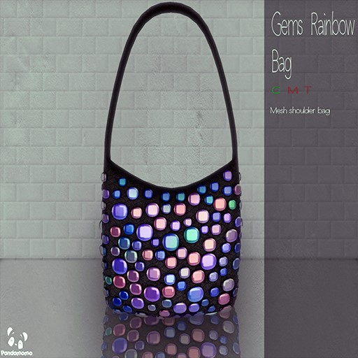 Pandamomo - Gems Rainbow Bag