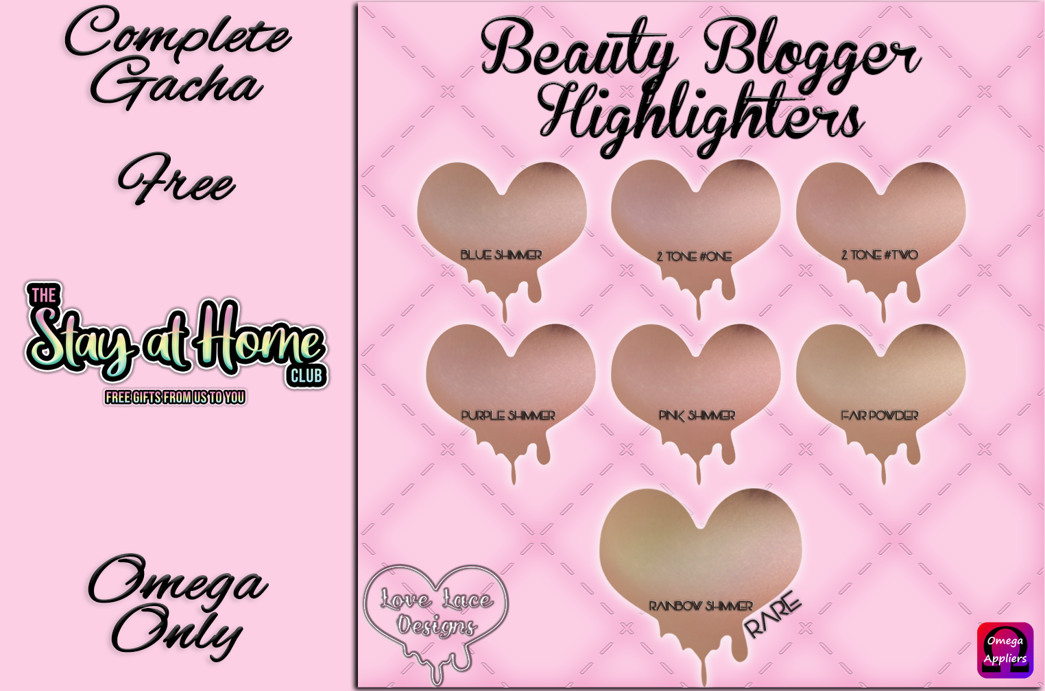 Love Lace - Beauty Blogger Highlighter