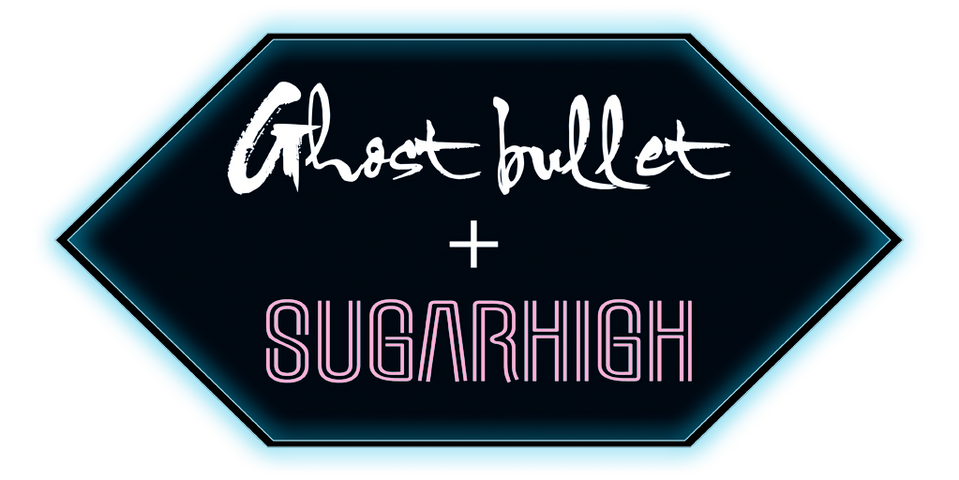 REGULAR - LOGO Ghost bullet + SUGARHIGH