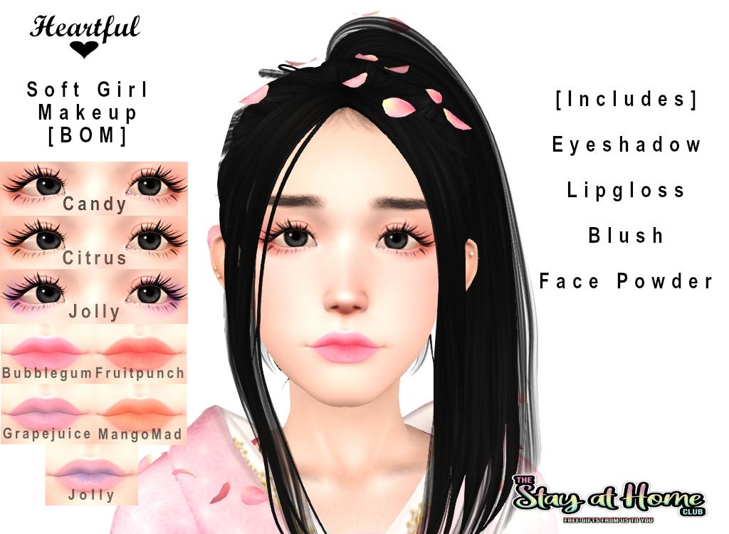 Heartful - Soft Girl Makeup Set