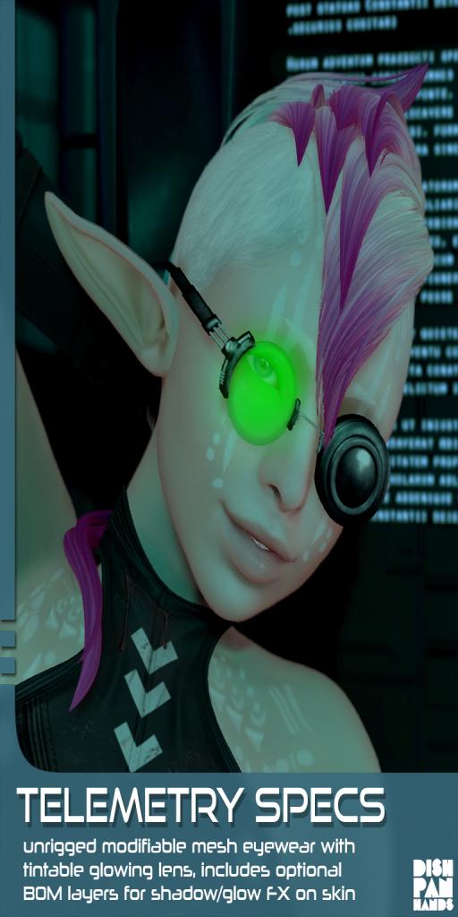 [DH] Telemetry specs ad
