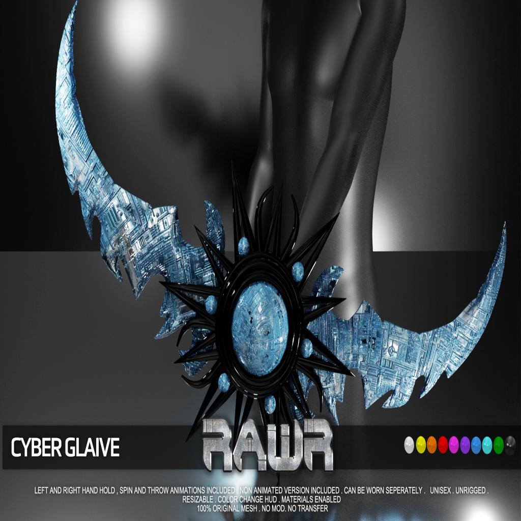 RAWR! Cyber Glaive PIC