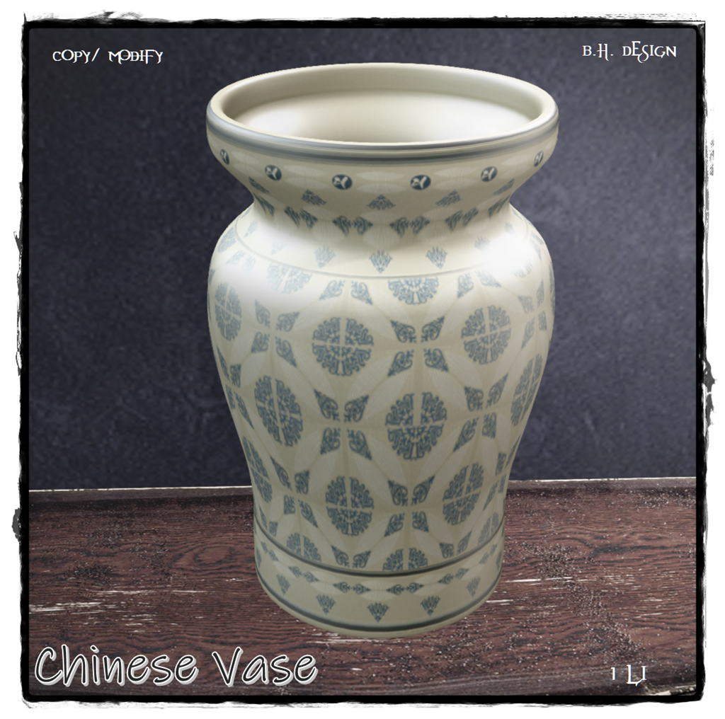 B.H.D. Group - Chinese Vase