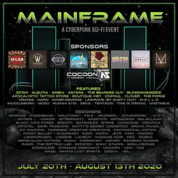 Mainframe - Final Designer Poster - July