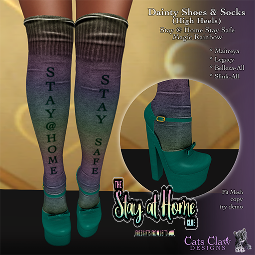 Cats Claw Designs - Dainty Shoes & Socks