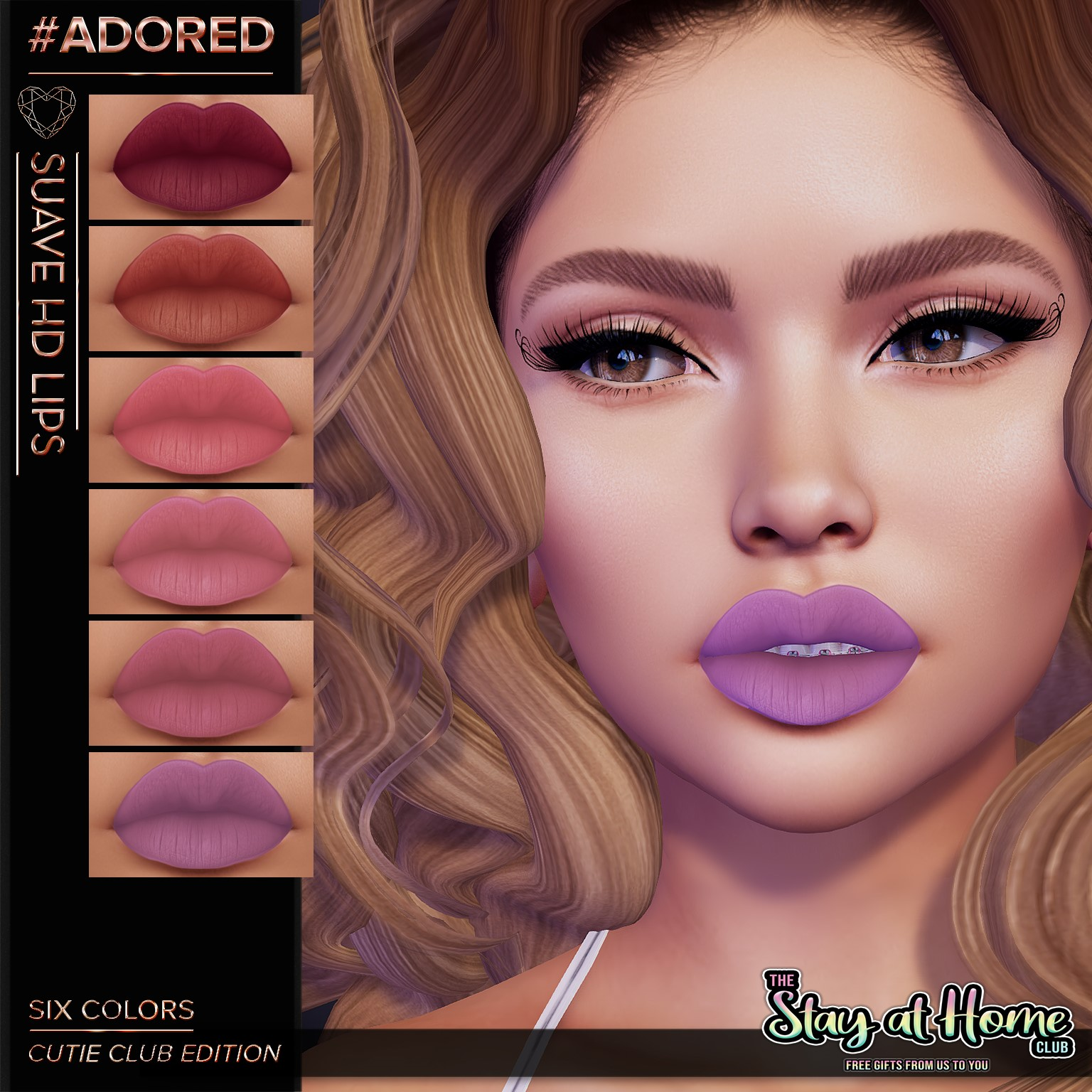 Suave D Lips - #adored