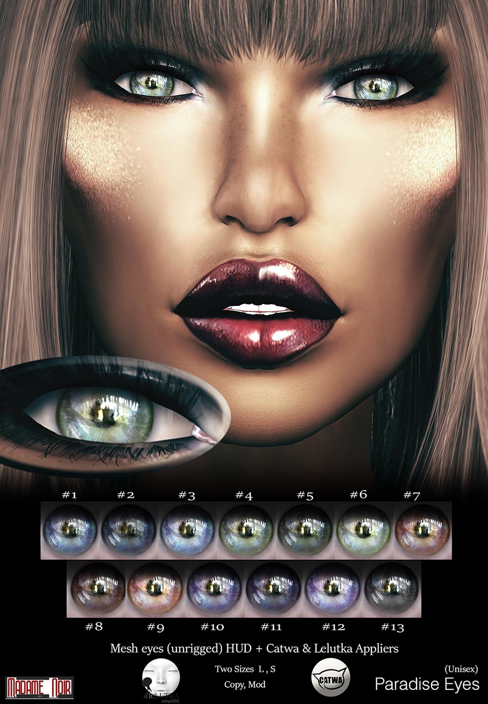 Madame Noir - Paradise Eyes