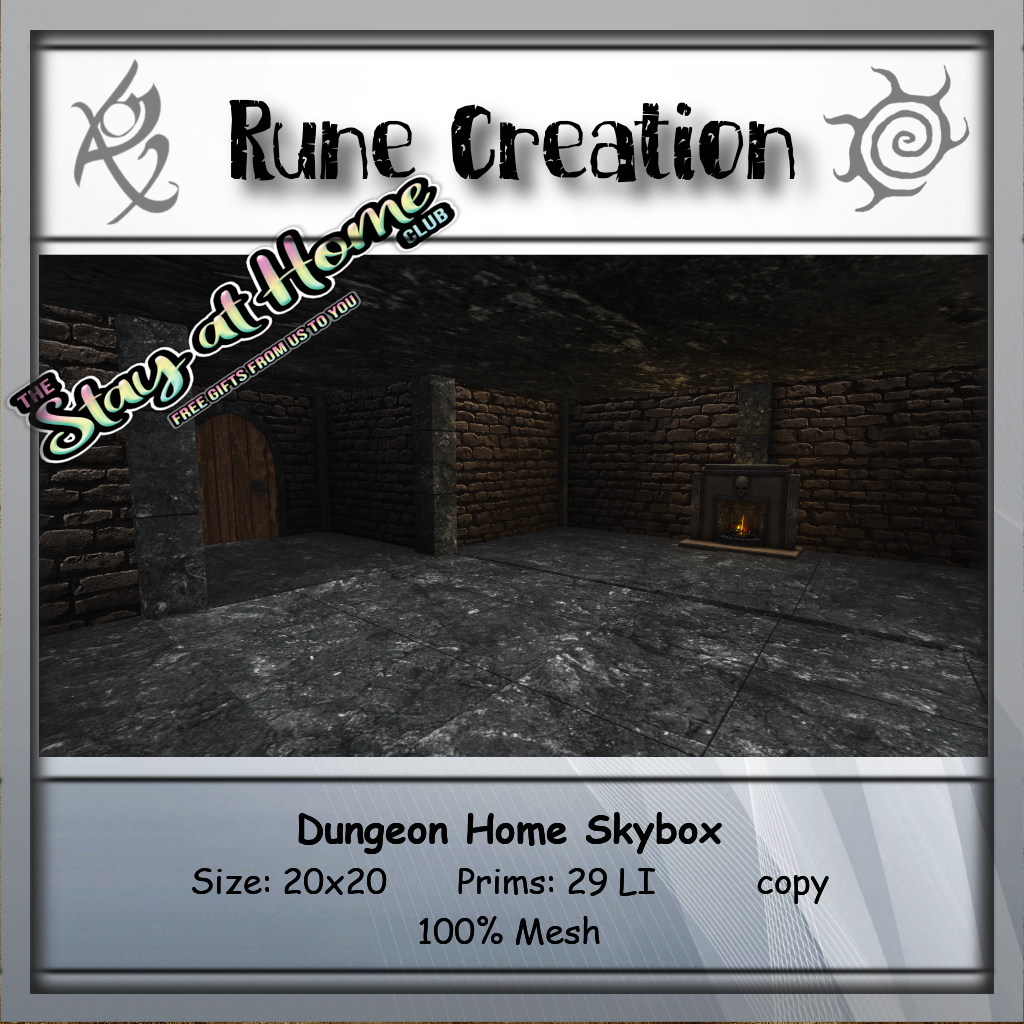 Rune Creation - Dungeon Home Skybox