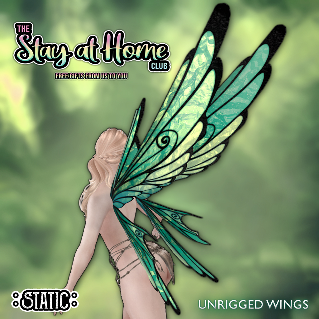 ::Static:: - Faewing Unrigged Wings